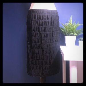 Dresses & Skirts - Smocked Mesh Pencil Skirt